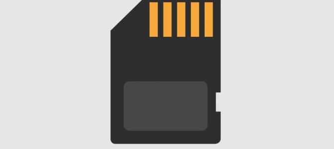 Как сделать SD-карту внутренней памятью