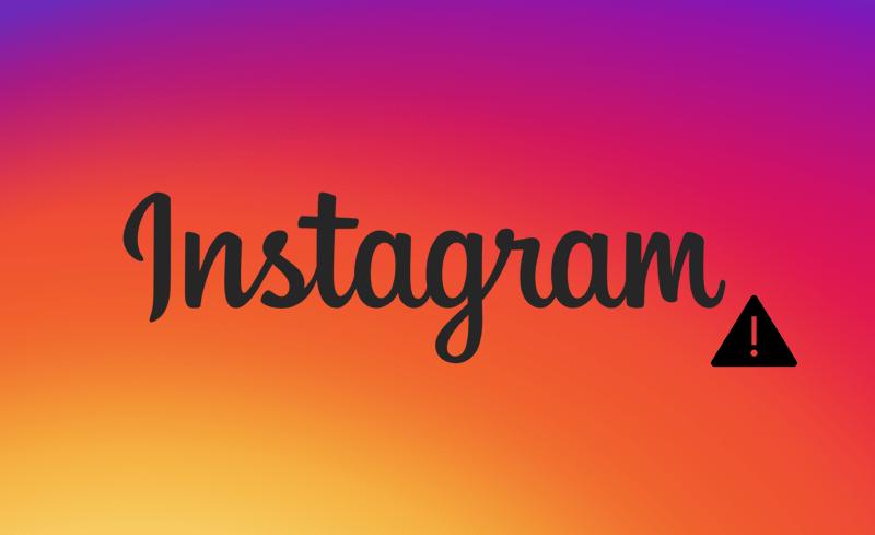 «Подозрительная попытка входа» в Instagram